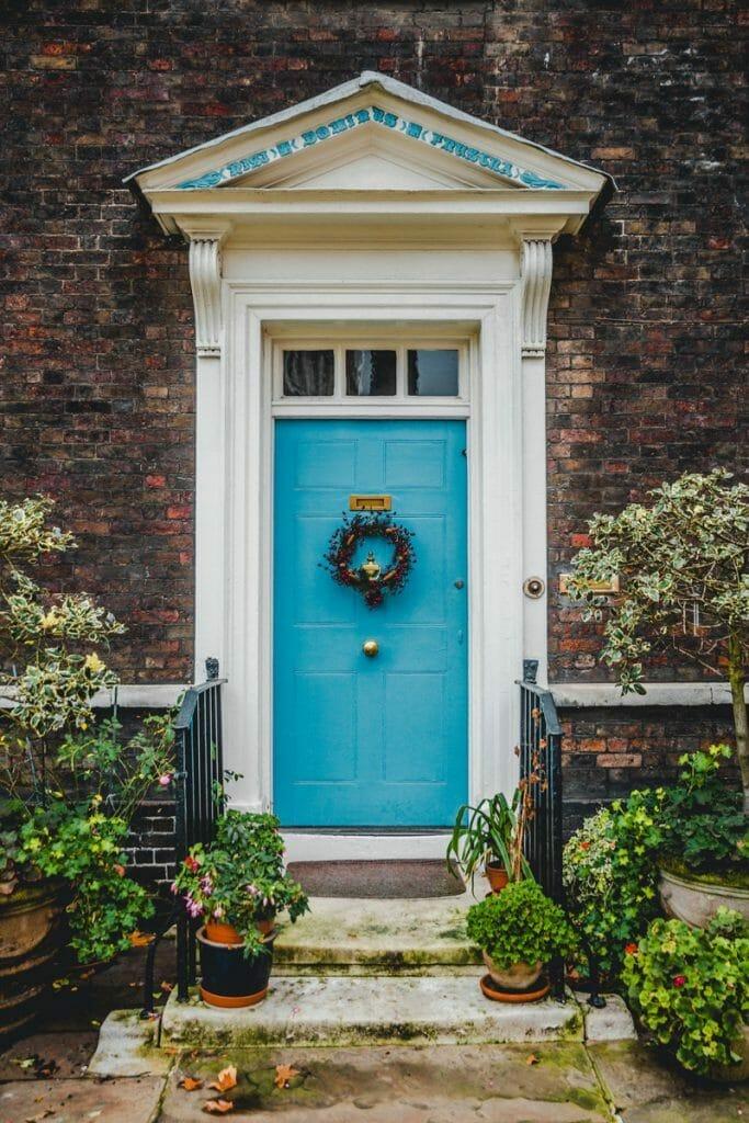 Robin's Egg Blue Door Color